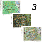 CO Mountain Goat 3 Printed Map Combo, Save $40